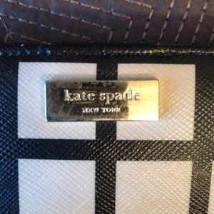 kate spade Bags - Kate Spade ♠️ Black & Cream wallet